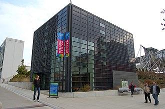 Exelon Pavilions - The Northwest Exelon Pavilion is the Millennium Park Welcome Center and houses the park's office.
