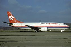 Norway Airlines Boeing 737