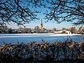 Norwich School playing fields in snow, Norwich, UK.jpg