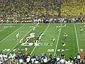 Notre Dame vs. Michigan football 2013 11 (ND on offense).jpg