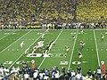 Notre Dame vs. Michigan football 2013 11 (ND on offense).jpg