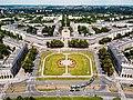 Nowa Huta - Plac Centralny z lotu ptaka.jpg