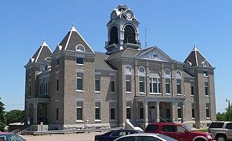 Nuckolls County, Nebraska - Image: Nuckolls County Courthouse from NW 1