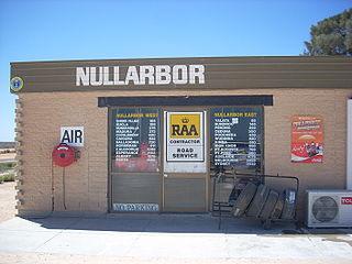 Nullarbor, South Australia Town in South Australia