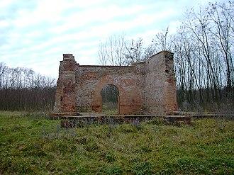 Nyíradony - Ruin of little chapel