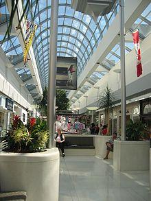 Das Oakridge Center von Innen