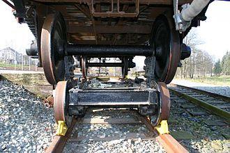 Rollbock - Freight car on a Rollbock