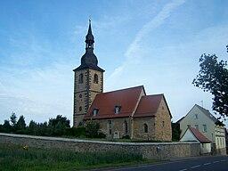 Kirche in Oberreißen, Landkreis Weimarer Land