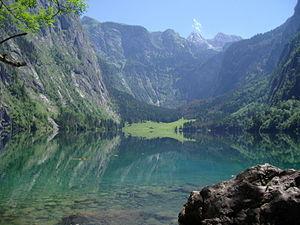 Berchtesgaden Alps - Obersee (Königssee)