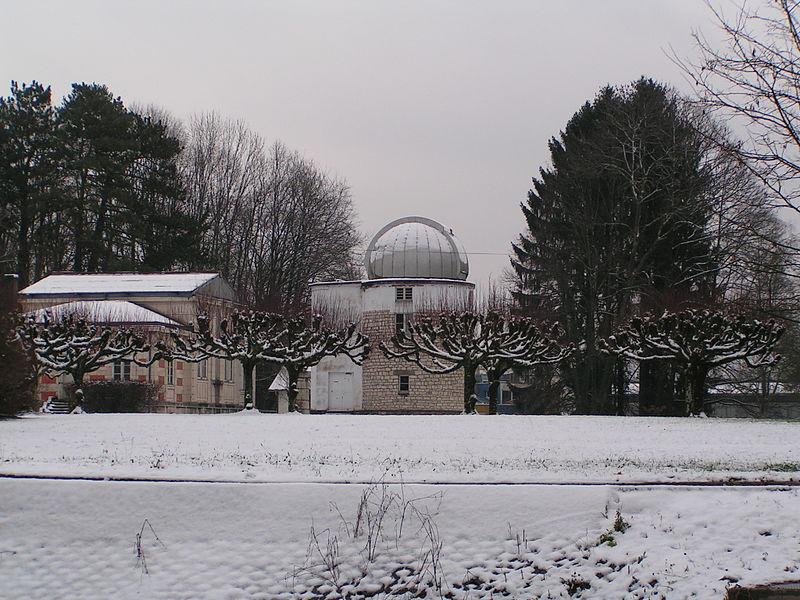 Bâtiments de l'Observatoire de Besançon (Doubs, France).