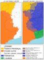Occitan and Arpitan, 482 vs linguists-fr.png