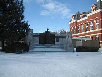 Ogle County Courthouse - Lorado Taft's The Soldiers' Monument.