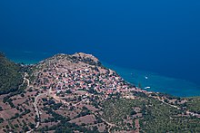 Ohrid Lake and Trpejca seen from Galicica2.jpg