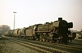 Oil-burning 042 (=041) class with tank wagons north of Rheine, Easter 1974.jpg