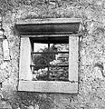 Okno na opuščeni hiši v Divači 1969.jpg