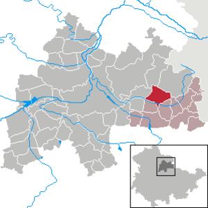 Olbersleben - Image: Olbersleben in SÖM