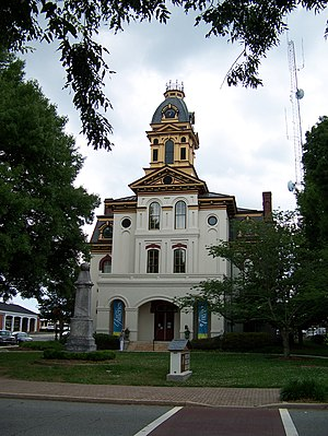 National Register of Historic Places listings in Cabarrus County, North Carolina - Image: Old Cabarrus County County Courthouse