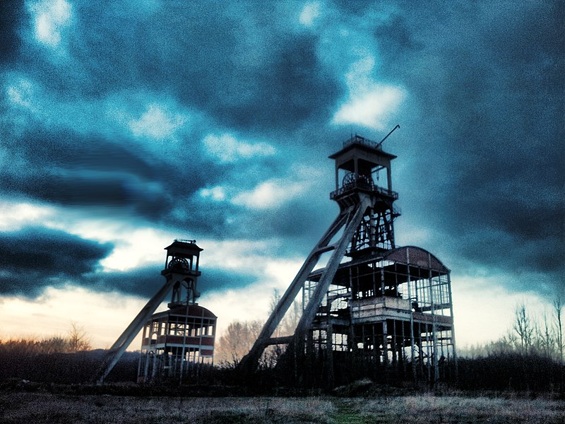 Old coal mines Maasmechelen