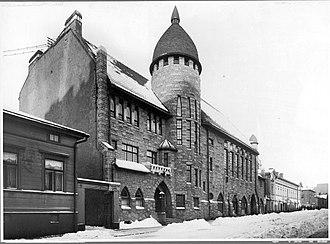 Karl Lindahl (architect) - Vanha Poli, Polytechnic Students' Union building in Helsinki, 1903