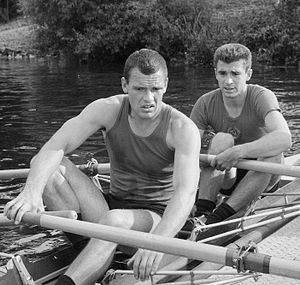Oleg Tyurin - Tyurin (left) and Dubrovsky in 1965