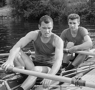 Oleg Tyurin - Tyurin (left) and Dubrovsky in 1965
