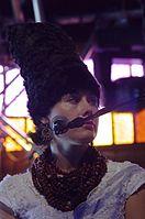 Olena Tsibulska (DakhaBrakha) (Haldern Pop 2013) IMGP6605 smial wp.jpg