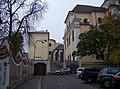 Olomouc, Na hradě, dominikánský klášter, z Univerzitní (01).jpg