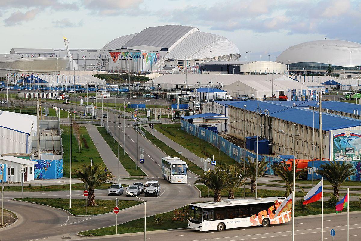 олимпийский стадион фишт схема зала