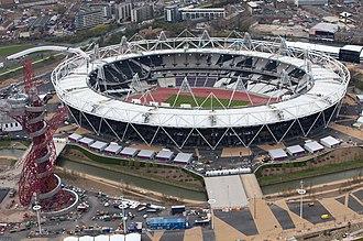 London Stadium - The stadium in April 2012