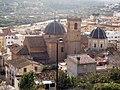 Onda, l'Assumpció i el barri de la Moreria des del Castell.jpg
