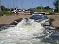 One of the drops at the Nene Whitewater Centre - geograph.org.uk - 225563.jpg