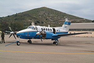One of three C-12s owned by the Greek Army.jpg