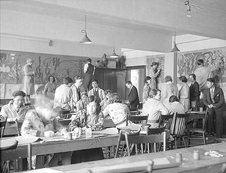 OCAD University - Inside a class in 1931.