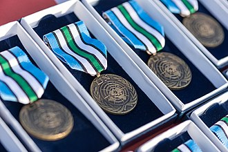 United Nations Mission in South Sudan - Medals awarded for service in Op TRENTON, the British contribution