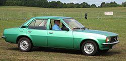 Opel Ascona four-door (1975–1981)