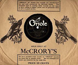 Oriole Records (U.S.) U.S. Record Label