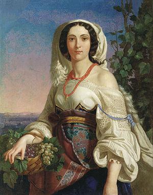Pimen Orlov - Neapolitan Woman