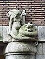 Ornament Satyr Hildo Krop Prinsenhof Stadhuis Voorburgwal Amsterdam.JPG