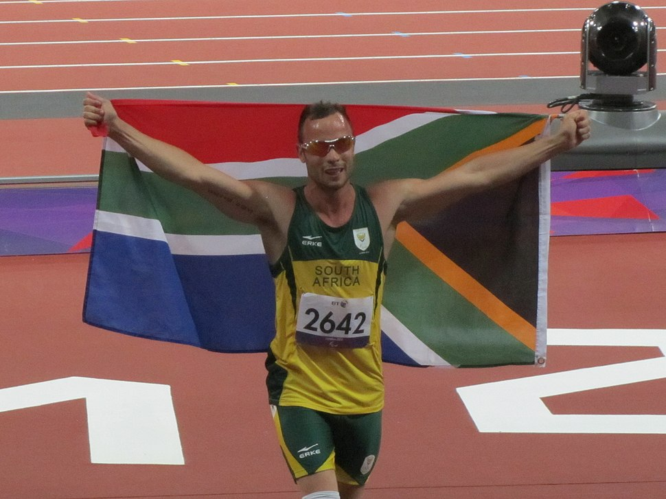 Oscar Pistorius wins the 400m T44 final 2