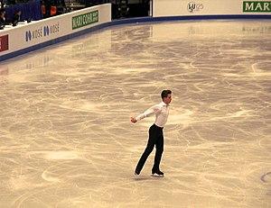 Jiří Bělohradský - Jiří Bělohradský at the 2017 European Figure Skating Championships, Ostrava