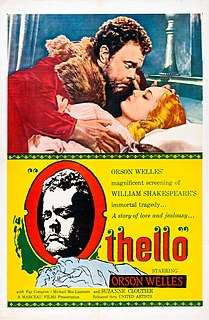 <i>Othello</i> (1951 film) 1951 film by Orson Welles