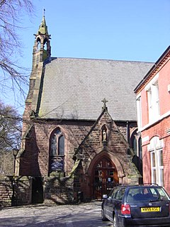 Our Lady Immaculate and St Joseph Church, Prescot Church in Merseyside, United Kingdom