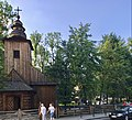 Our Lady of Częstochowa and Saint Clemens church in Zakopane, August 2017, 01.jpg
