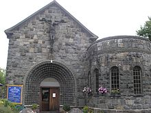 Our Lady of the Seven Sorrows Church, Dolgellau Exterior.JPG