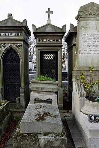 Jacques Baumer - Grave at the cimetière du Père-Lachaise