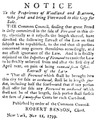 PSM V56 D0200 Municipal notice in the new york gazette and general advertiser 1800.png