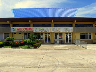 Pagadian Airport - Pagadian City Airport facade viewed from the apron