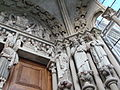 Painted portal in the Lausanne Cathedral-04.JPG