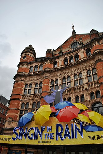 Palace Theatre, London - Singin' In The Rain at the Palace Theatre, London