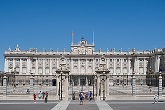 Patrimonio Nacional - Palacio Real de Madrid.